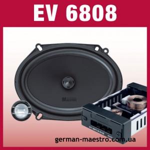 "German Maestro EV 6808 6x8"""